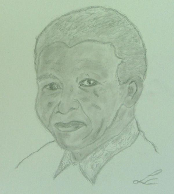Nelson Mandela by casimir1975